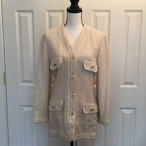 Jackets & Blazers - wool coat/jacket/blazer duster, beige
